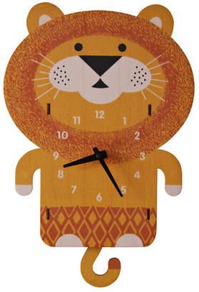 Modern Moose Lion Pendulum Wall Clock