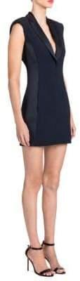 Versace Crystal Open Back Mini Dress