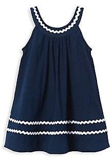 Janie and Jack Little Girl's& Girl's Cover-Up Swim Dress