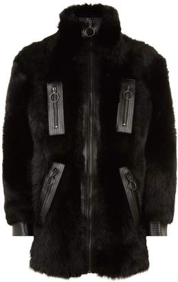 Givenchy Long-Haired Shearling Jacket