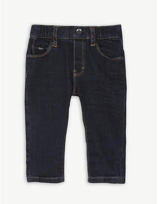 BOSS Dark wash slim cotton denim jeans 6-36 months