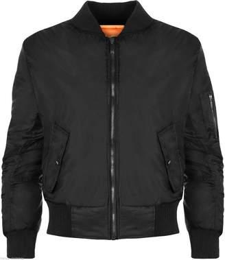 Roland Mouret Fashions Womens Winter Jacket Biker Bomber Pilot Warm Padded Air Style Coat (XS-XL)