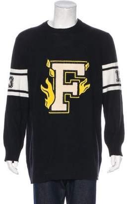 Puma Fenty x Wool & Cashmere Varsity Sweater