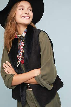 Velvet by Graham & Spencer Yvette Reversible Faux Fur Vest