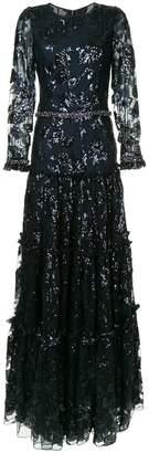 Ingie Paris sequin embellished gown