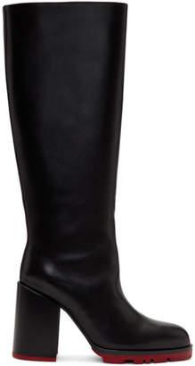 Jil Sander Black Sandy Sport Tall Boots