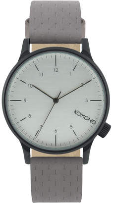 Komono Winston Concrete Watch