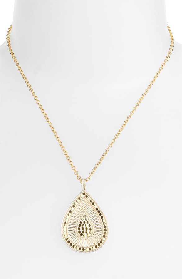 Anna Beck 'Gili Divided Wire' Teardrop Pendant Necklace