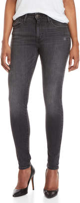 Levi's Grey 721 High-Waisted Skinny Jeans