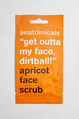 Anatomicals Apricot Face Scrub - orange at Urban Outfitters