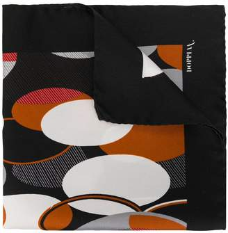 Doppiaa all-over print scarf