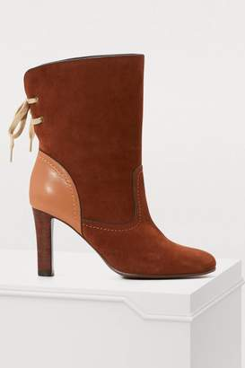 See by Chloe Lara ankle boots