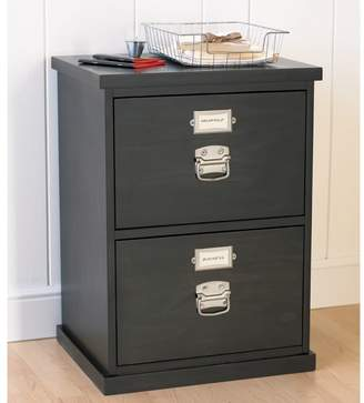 Pottery Barn Bedford 2-Drawer File Cabinet, Black