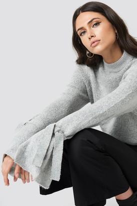 Rut & Circle Rut&Circle Vera knot knit Lt Greymelange