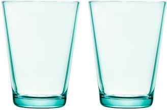 Iittala Set of 2 Kartio Tumblers - Water Green