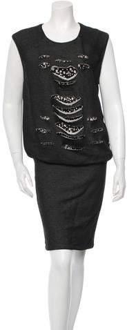 Jay Ahr Embellished Dress w/ Tags