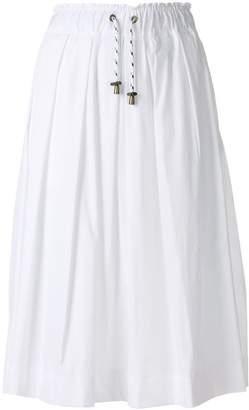 Woolrich drawstring waist skirt