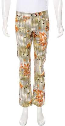 Gucci Striped City Flora Print Pants