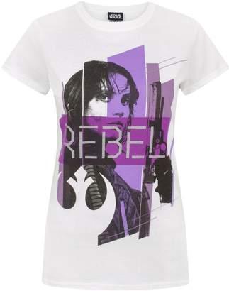 Star Wars Rogue One Rebel Women's T-Shirt (L)