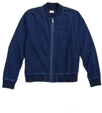 AG Adriano Goldschmied kids Knit Bomber Jacket