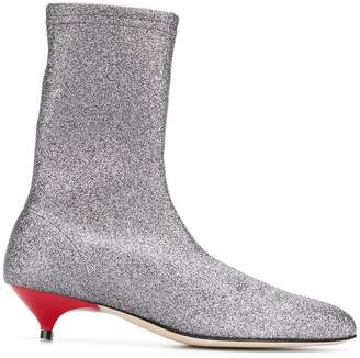 Couture Gia glitter detail boots