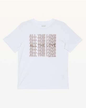 Juicy Couture All the Love Flocked Tee