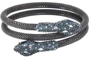 Alexis Bittar Dark Alchemy Crystal Serpent Wrap Bracelet