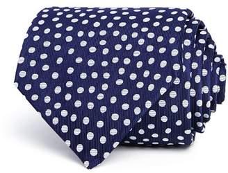 Turnbull & Asser Sporadic Egg Spot Silk Classic Tie