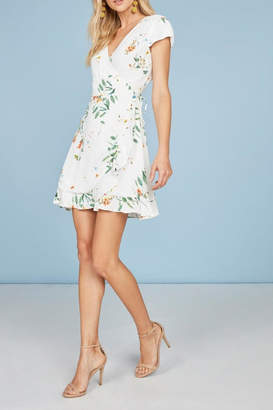 Willow & Clay Landon Floral Wrap-Dress