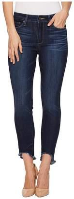 Paige Hoxton Ankle Petite w/ Arched Hem in Auburn Women's Jeans