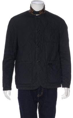 Burberry Patterned Reversible Jacket
