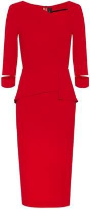 Roland Mouret Dunne crepe dress