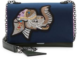 Emporio Armani Embroidered Crossbody Bag