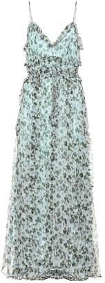 Lee Mathews Nina printed silk maxi dress