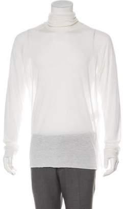 Haider Ackermann Wool-Blend Turtleneck Sweater wool Wool-Blend Turtleneck Sweater
