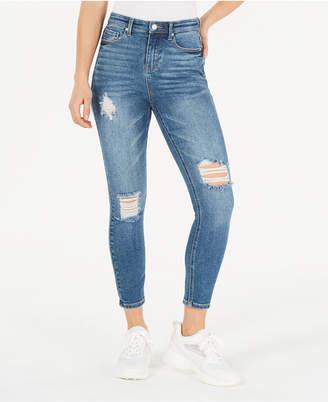 Vanilla Star Juniors' Ripped Skinny Jeans