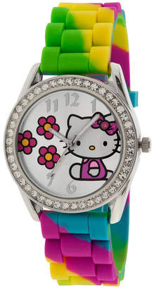 Hello Kitty Rainbow Crystal-Accent Watch
