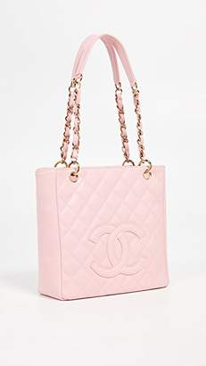 Chanel What Goes Around Comes Around Caviar Tote