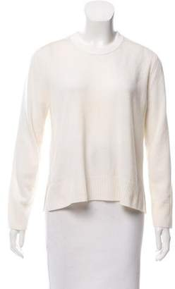 Reed Krakoff Cashmere Leather-Trimmed Sweater
