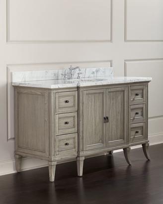 Ambella Danbury Marble-Top Vanity Chest