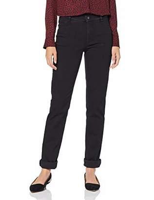 Atelier GARDEUR Women's INGA Straight Jeans, (Black 799)
