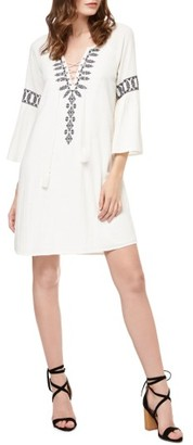 Women's Sanctuary Lucie Embroidered Shift Dress $139 thestylecure.com