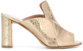 Jean-Michel Cazabat metallic effect sandals