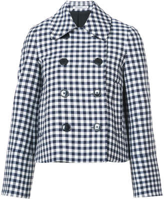 Protagonist flared sleeved gingham jacket