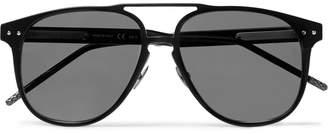 Bottega Veneta Aviator-Style Aluminium Sunglasses