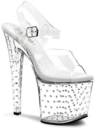 Pleaser USA Women's Stardust-758 Platform Sandal
