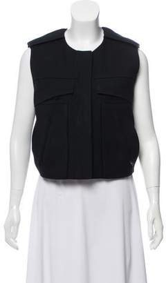 Alexander Wang Linen Zip-Up Vest