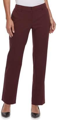 Apt. 9 Women's Torie Midrise Curvy Straight-Leg Dress Pants