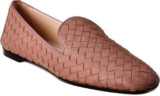 bd498c161289a Bottega Veneta Fiandra Intrecciato Leather Loafer