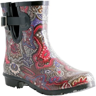 NOMAD Pull-On Rubber Rain Booties - Droplet